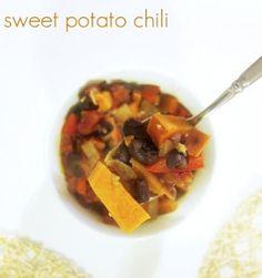 sweet potato chili- vegan and gluten free!