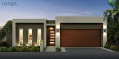 Modern house design plans canada with small duplex house plans 800 sq ft and modern house front view Tiny House Plans, Modern House Plans, Modern House Design, House Floor Plans, Flat Roof House, Facade House, House Front, Home Design Images, Front Elevation Designs