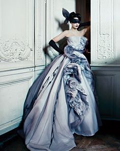 .Ball gown inspiration