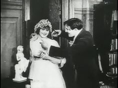 """Max Wants a Divorce"" (1917) starring Max Linder and Martha Mansfield"