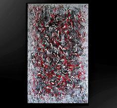 Kunstgalerie Winkler Abstrakte Acrylbilder Malerei Leinwand Unikat XL Bilder Neu