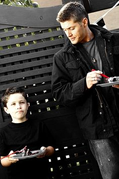 3x02 The Kids Are Alright Dean Winchester and Ben Braeden (who I totally 100% believe is Dean's son)