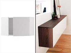 Ikea Hack: Akurum Cabinets #diy #home http://www.ivillage.com/ikea-hack-how-transform-and-repurpose-your-ikea-furniture/7-a-525310