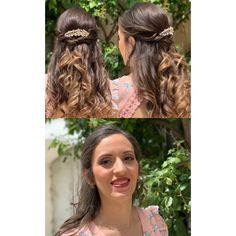 Attache et maquille du jour  #wavyhair  #mariage2019  #torsadehair  #mariagechampetre  #mariageenprovence Dreadlocks, Hair Styles, Beauty, Provence Wedding, Hair Makeup, Hairdos, Cosmetology, Dreads, Hair Cuts