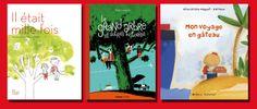 Coups de cœur de Gabriel pour décembre 2013 : Mon voyage en gâteau d' Alice Brière-Haquet et Barroux chez Océan Éditions : http://lamareauxmots.com/blog/chronique-parfumee/#3 Il était mille fois de Ludovic Flamant et Delphine Perret chez Les Fourmis Rouges : http://lamareauxmots.com/blog/inventaires/ Le grand arbre et autres histoires de Rémi Courgeon chez Mango : http://lamareauxmots.com/blog/aller-vers-lautre/