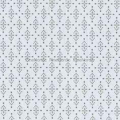 A.U Maison Voksdug Yasmin - Light Grey - Pris pr meter