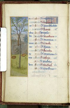 September 2 - Book of Hours, MS M.6 fol. 10v - France, circa 1480 - The Morgan Library & Museum
