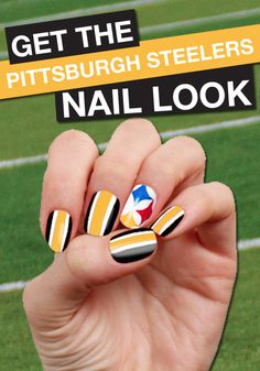 Here we go, Steelers! Click to find your favorite team's FANICURE!