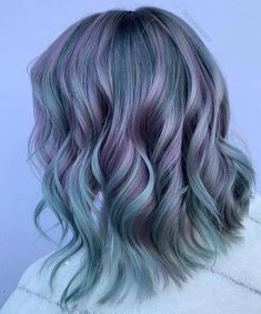 63 Lastest Hair Color Design For Shoulder Length Hair - All For Hair Color Balayage Pastel Highlights, Hair Highlights, Pelo Multicolor, Hair Colour Design, Ombre Blond, Hair Reference, Cool Hair Color, Hair Colors, Hair Color Balayage