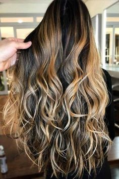Breezy Styling for Long Haircuts with Layers: Long Layered Hair With A Drop Of Honey Curls For Long Hair, Haircut For Thick Hair, Long Brown Hair, Curly Hair Cuts, Long Curly Hair, Long Hair Cuts, Long Layered Hair Wavy, Haircuts For Long Hair With Layers, Fade Haircut