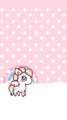 Cute kawaii wallpaper for iphone Unicornios Wallpaper, Kawaii Wallpaper, Galaxy Wallpaper, Pattern Wallpaper, Wallpaper Backgrounds, Unicorn Backgrounds, Cute Backgrounds, Cute Wallpapers, Iphone Wallpapers