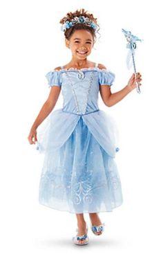 cf97a0205 Fantasia Vestido de Festa Infantil Princesa Cinderela