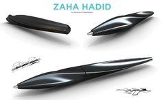 Designing Pens by Alejandro Palandjoglou, via Behance Cool Stationery, Stationary Design, Pen Design, Form Design, Ergonomic Pen, New Technology Gadgets, Luxury Pens, Writing Pens, Aircraft Design