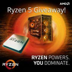 #DaddyComper Shared: Win AMD Ryzen 5 1600 CPU  –  #Giveaway (WW)