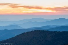 smoky mountains sunset - Google Search
