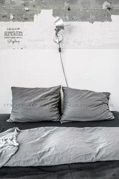 Vue sur chambre  White et gris