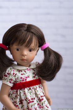 Рассказ про то, как Минушки не селятся стайками / Sylvia Natterer, Сильвия Наттерер. Коллекционно-игровые куклы / Бэйбики. Куклы фото. Одежда для кукол White Balloons, Dolls, Baby Dolls, Doll, Puppets