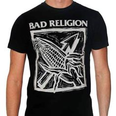 Bad Religion T shirt Against The Grain cool punk retro 80's skate graphic t-shir #BadReligion #GraphicTee