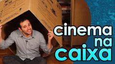 Cinema na caixa (câmara escura - experiência de Física) - Movie in a box