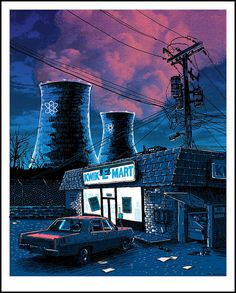 """Night Falls on the SNPP - From the series """"Unreal Estate"""" 