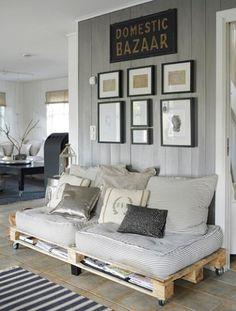 diy palette sofa