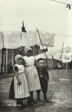 Urk Used Cloth Diapers, Holland, Clothes Line, 5 Year Olds, My Heritage, Windmill, Folklore, Once Upon A Time, Hanging Out