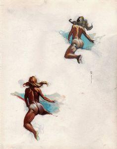 Image result for the secret art of frank frazetta