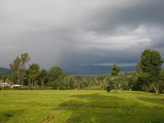 Kenya, Africa, watching rain move in (taken by Sarah Croaker)