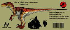 Jurassic Park: V.nublariensis( Updated 2016) by Hellraptor on DeviantArt