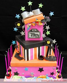 Hollywood Bat Mitzvah Cake from Pink Cake Box