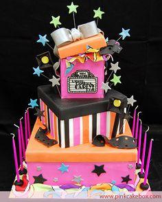 Hollywood Bat Mitzvah Cake from Pink Cake Box