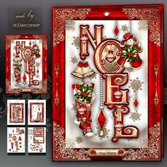 Noël Robin coin Stacker 1 x A4 Feuille