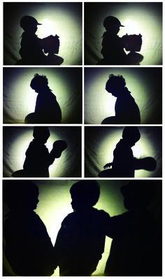 Luces, sombras y siluetas.