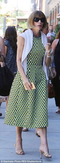 Favorites: The sling-back style works with her dresses and skirts in varying levels of dressiness (pictured in 2015)