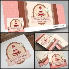 Flora Design, Logo Doce, Bakery Business Cards, Bakery Branding, Calcium Rich Foods, Food Logo Design, Health Logo, Pottery Making, Healthy Living Tips