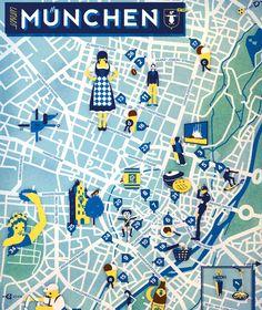 Die besten Tipps für München finden Sie auf dieser Karte. Na, erkennen Sie alles? Ein Auge für Kunst sollten Sie schon haben