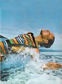 Fiji - Vogue 1971 Ingrid Boulting by David Bailey