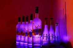 Alcohol Bottles | alcohol, blue, bottle, bottles, club - inspiring picture on Favim.com
