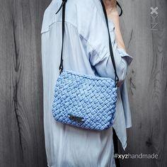 WEBSTA @ xyzhandmade - Девчули, эта сумочка уже продана, но могу повторить её для вас в любом цвете. О сумочке:Материал: пряжа…