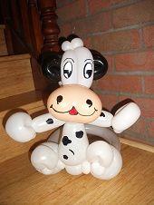 Balloon cow