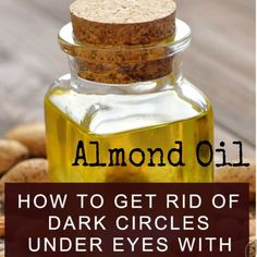 Dark Circles Under Eyes, Face Skin Care, Almond, Things To Come, Oil, Beauty, Instagram, Dark Spots Under Eyes, Under Eye Circles