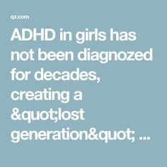 Decades Of Failing To Recognize Adhd In >> 44 Best Gender Images Gender Music Genre Alcohol