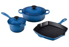 Online-Only 5-Piece Cast Iron Set - Was $415 - Just in time for #Mother'sDay @Le Creuset