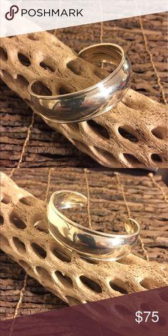 Silpada .925 Sterling Silver Cuff Bracelet Polished very bold cuff bracelet. (Retired) Silpada Jewelry Bracelets