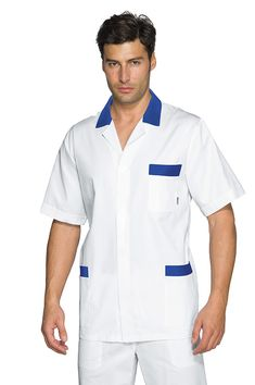 White Nurse Dress, Bleu Cyan, Housekeeping Uniform, Hospital Icon, Medical Scrubs, Nursing Dress, Work Wear, Chef Jackets, Tunic