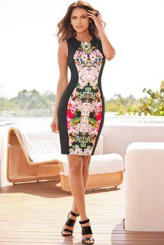 Boston Proper Orchid rainforest dress #bostonproper