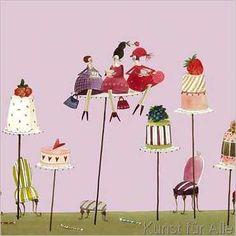 Silke Leffler - Friends and cakes
