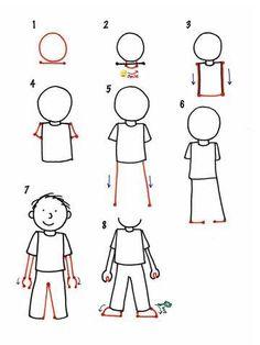 Screenshot 1 lukiel drawings в 2019 г. drawings, drawing lessons for kids и Easy Drawing Steps, How To Draw Steps, Step By Step Drawing, Learn To Draw, Teach Kids To Draw, How To Draw Boy, Learning To Draw For Kids, Easy Drawings For Beginners, Drawing Tutorials For Kids