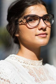 Faces by The Sartorialist: style inspired by eye glasses Model n: MU 03NV ROY-1O1 Brand: Miu Miu
