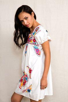 Urban Renewal Mexicali Rose Dress #urbanoutfitters